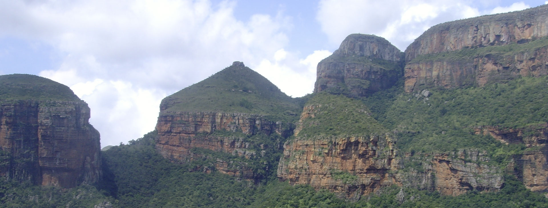 the Three Rondavels are one of the major icons of the Mpumalanga Province