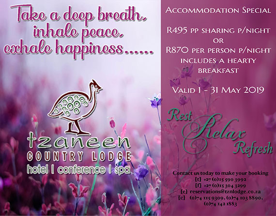 Accommodation Special May