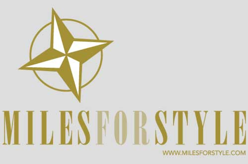 Miles for style logo